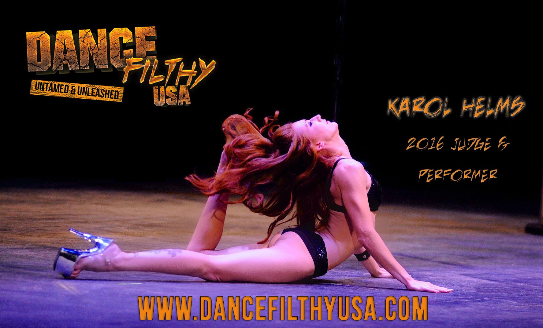Workshops Dance Filthy USA 2016 Karol Helms